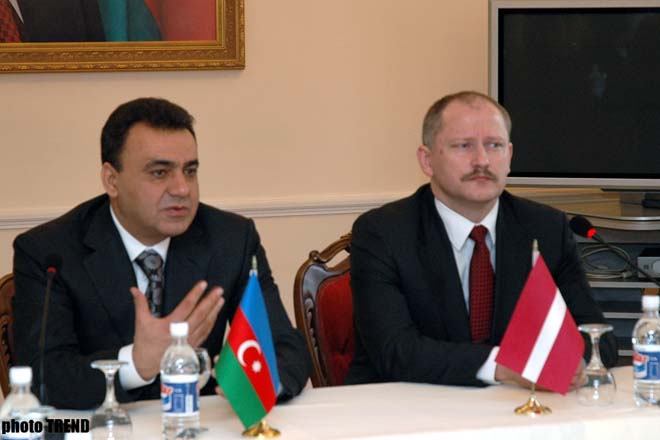 Azerbaijan   Latvia Sign Protocol on Results of Economic Commission Meeting - Gallery Image