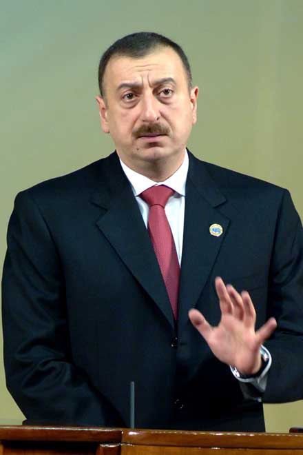 Azerbaijan Much Concerned about  Tension in Region: President Aliyev