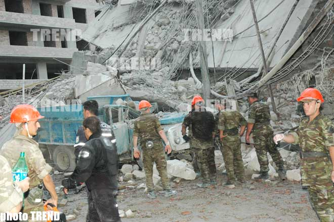 Monetary Assistance to be Rendered to Families of Victims Killed in Collapse of 16-Storey Building - Baku Prosecutor