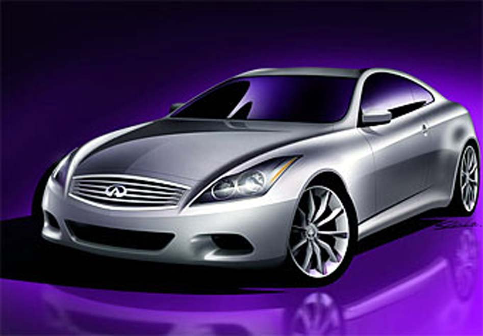 Infiniti previews 2008 G35 Coupe