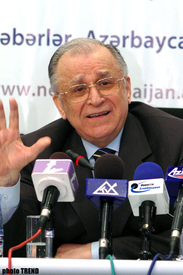 Romanian ex-President in Favour of Resolution of Nagorno-Karabakh Conflict for Both Sides