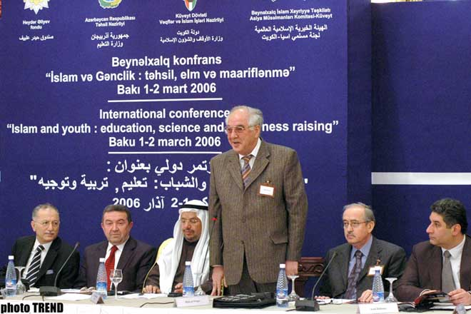 Conference Islam and Youth: Education, Science and Enlightenment is held in Baku