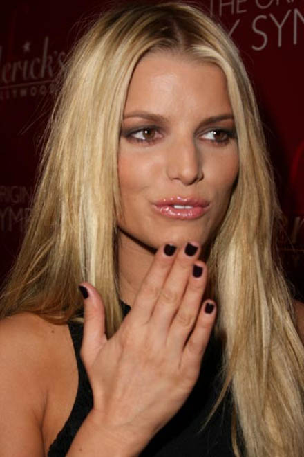 Jessica Simpson denies getting lip injections