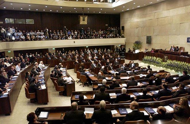 Israeli parliament not to recognize so-called Armenian genocide