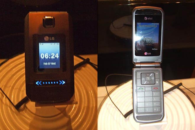 Sneak Peek At LG Trax 3G Music Phone for AT& T