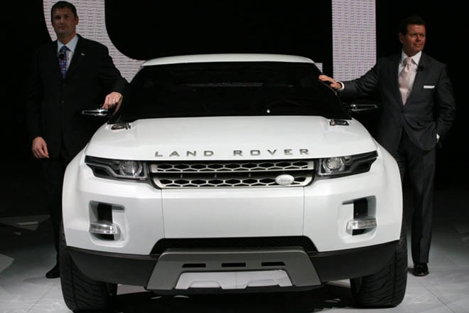 Vision of Land Rover future - Gallery Image