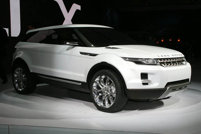 Vision of Land Rover future