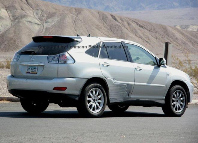 Lexus RX350 Test Mule Spy Photos - Gallery Image