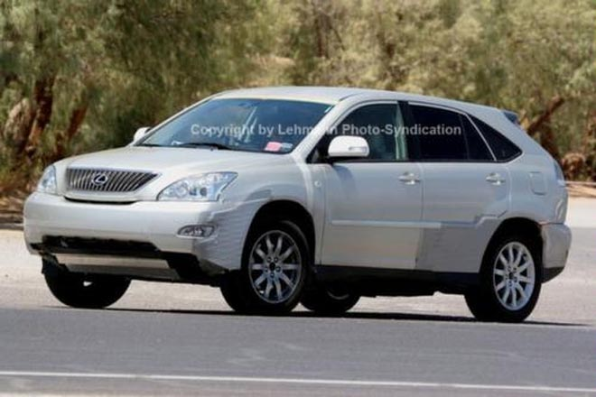 Lexus RX350 Test Mule Spy Photos