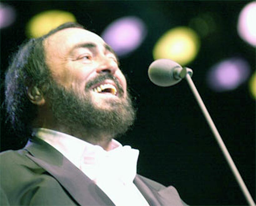 Luciano Pavarotti remains in hospital