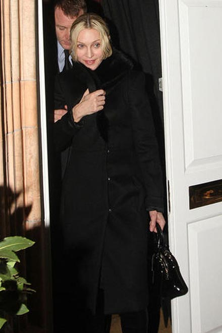 Madonna Steps Out With Her Guy - Gallery Image