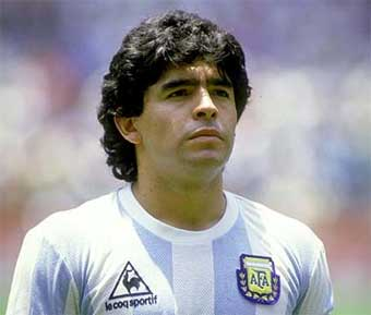 "Maradona jibe at Brazil ""arm of God"" goal"