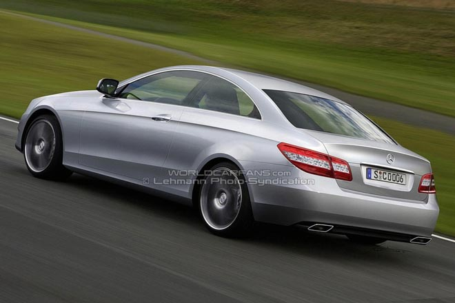 New Mercedes CLK-Class: Latest Illustrations - Gallery Image
