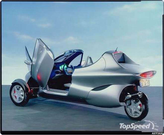 Mercedes рассекретил автомобиль будущего - Gallery Image