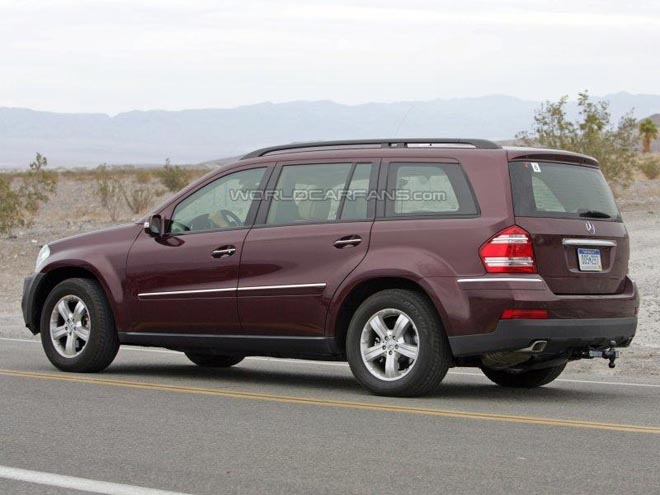 Mercedes GL-Class Facelift - Gallery Image