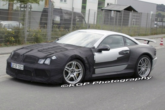 Mercedes SL Black Series Spied - Gallery Image