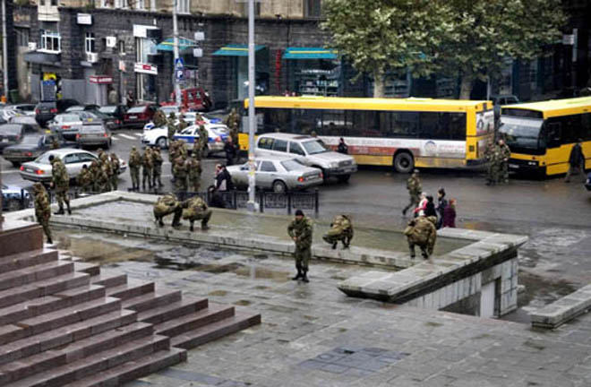 Georgian Interior Ministry: Opposition demonstrations leave two dead