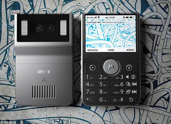 Stereo Camera Packed Into Motorola Concept Phone