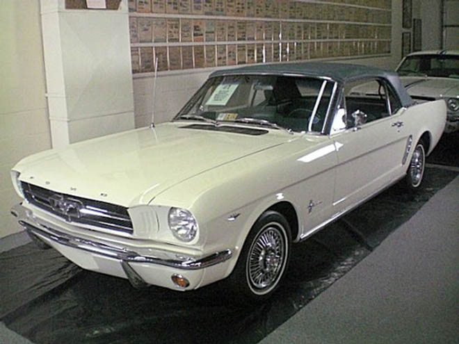 First Ever Mustang Convertible for   Sale - Gallery Image