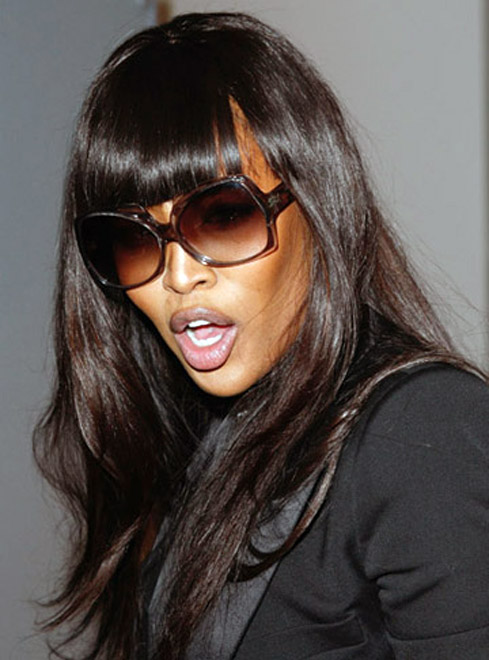Naomi Campbell's baby dream
