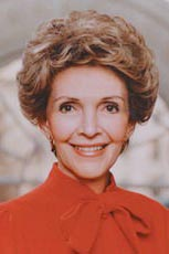 Nancy Reagan Endorses McCain for U.S. President