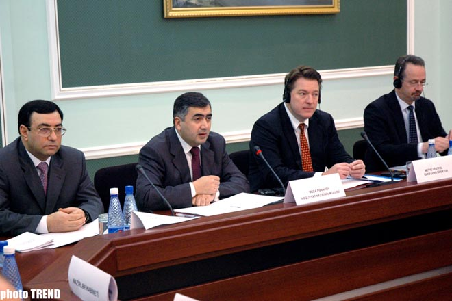 """Presentation of """"Transport Sector Development Strategy in Azerbaijan"""" took place at Transport Ministry"""