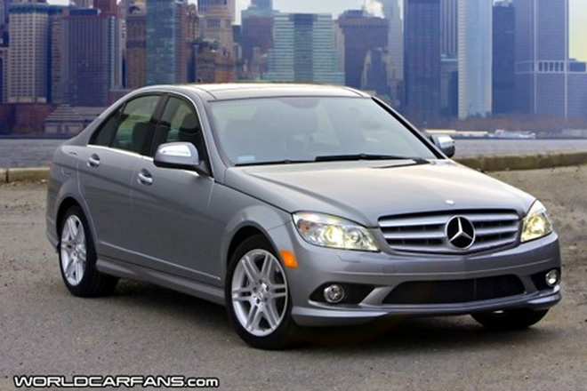 New Mercedes C-Class Makes US Debut in NY