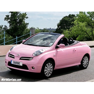 Nissan Micra Barbie Car