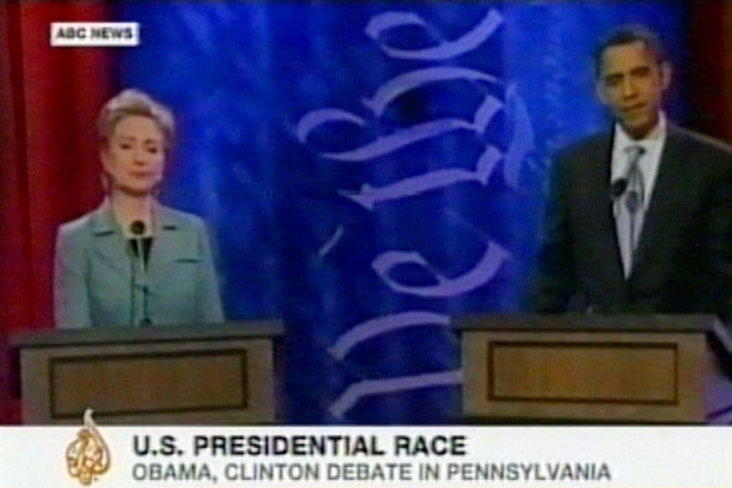 Obama and Clinton answer for gaffes ahead of Pennsylvania (video) - Gallery Image