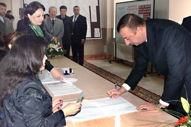 Azerbaijani President voices his hope to see transparent, fair elections - Gallery Image