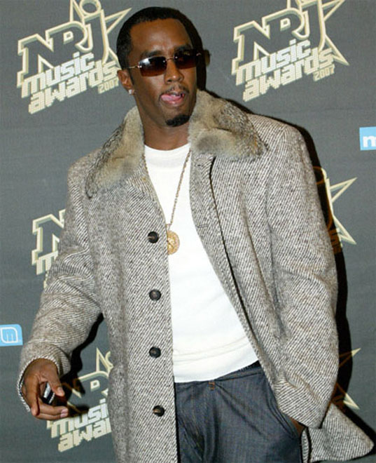 P Diddy Denies Affair With Peter Cook's Mistress