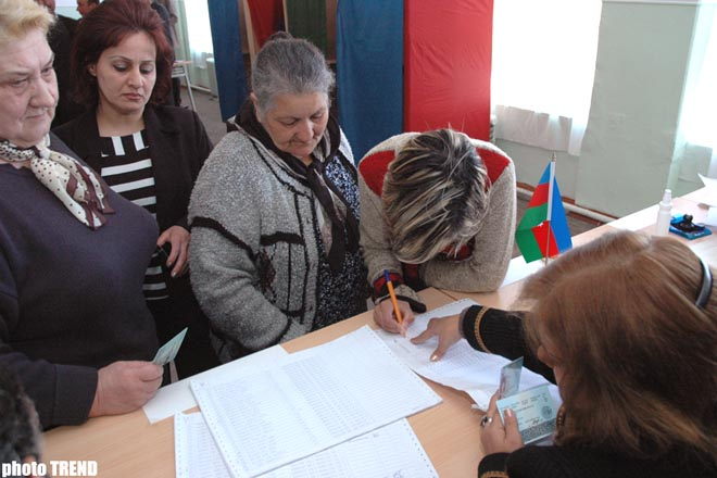Re-run elections from 10 constitutes starts in Azerbaijan - Gallery Image