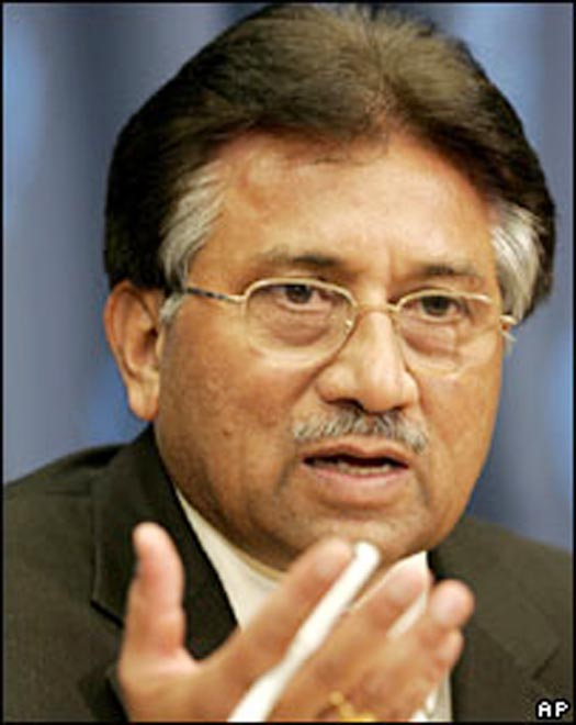Musharraf denies knowing bin Laden was in Pakistan