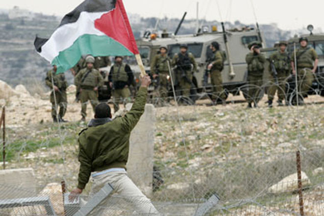 Palestine to Fight Emphatically but   Israel to Protect its Territory