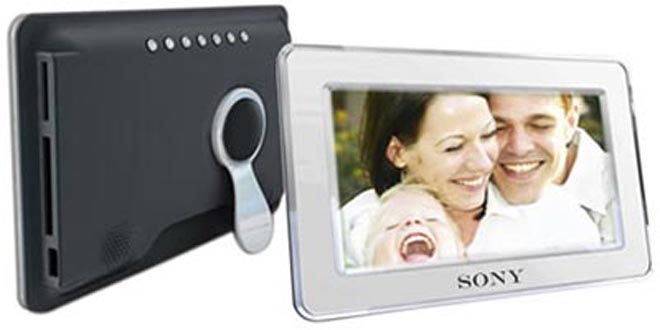 Sony Digital Picture Frames Love Raw Images