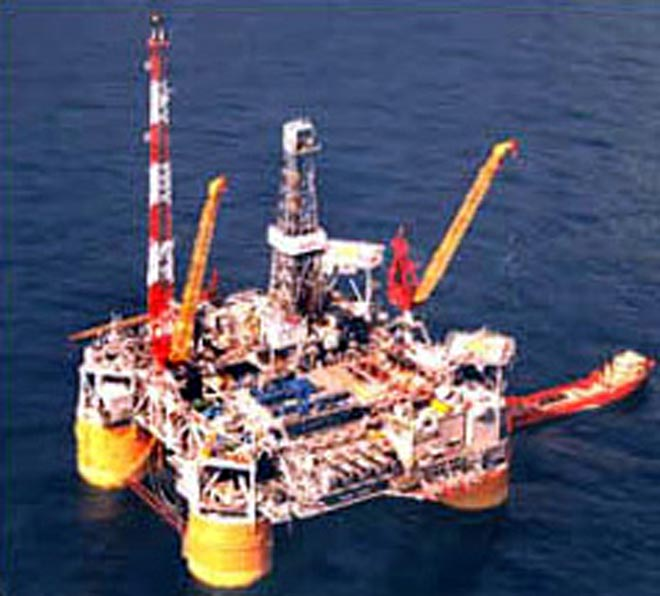 North Sea oil platform operated by Shell leaking
