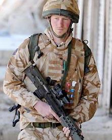 Великобритания готовит операцию по эвакуации принца Гарри из Афганистана
