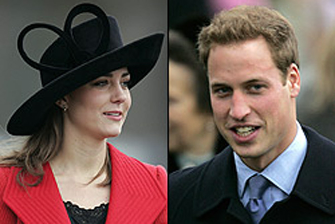 William and Kate 'seeing each other in secret'