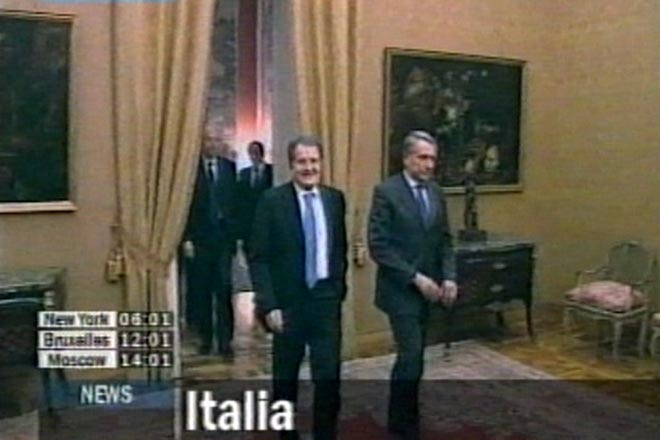 Italian president to begin consultations after Prodi resignation - Gallery Image