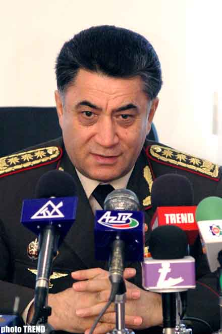Azerbaijan Domestic Minister Says   Azerbaijan Ready to Closely Cooperate with Everybody in Issues Connected with Fight with International Terrorism and Drug Trafficking