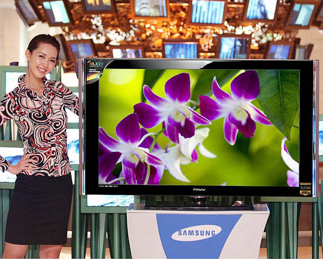 Samsung is going one step further with their new line of LCD televisions