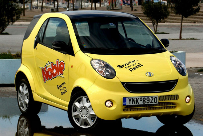 Shuanghuan Noble: Chinese Smart Fortwo?s Motto is ?Smarter Than The Rest