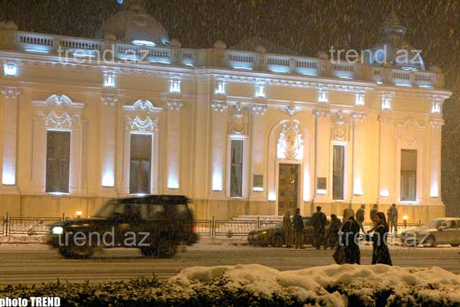 Baku in Snow – Photo-session - Gallery Image