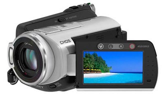 The 100GB Sony HDR-SR5C Digital Camcorder