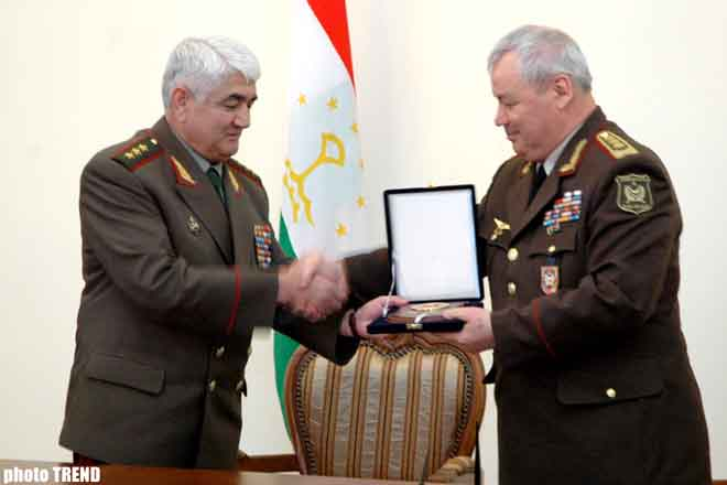 Azerbaijan and Tadjikistan signed agreement on cooperation in military sphere
