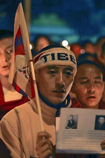 Tibet protests spread to other provinces