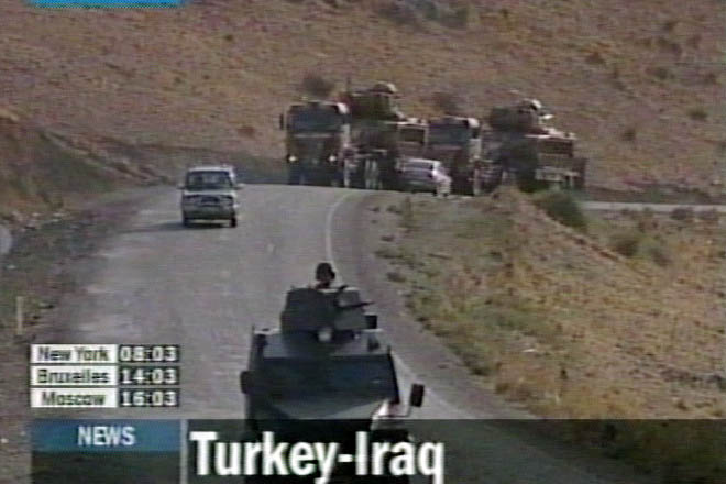 Turkey Builds Up Forces On Iraq Border (video) - Gallery Image