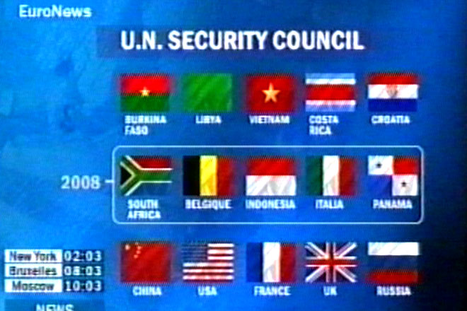 Five non-permanent Security Council members elected for seats starting next year - Gallery Image