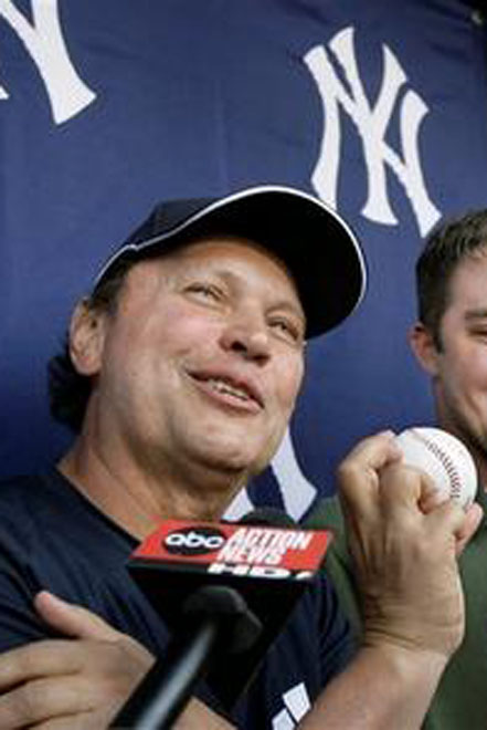 New York Yankees release Billy Crystal