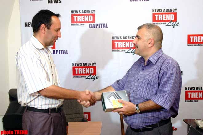 Third Winner of Contest Organized by Trend News Agency Announced (video) - Gallery Image